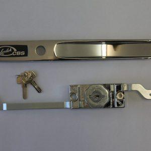 Steel LENLOK - Roller door lock