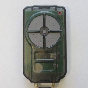 Green color garage door remote triocode