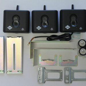 Steel wireless safety beams