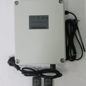 Gen2 Gate Control System Mounted on the Wall