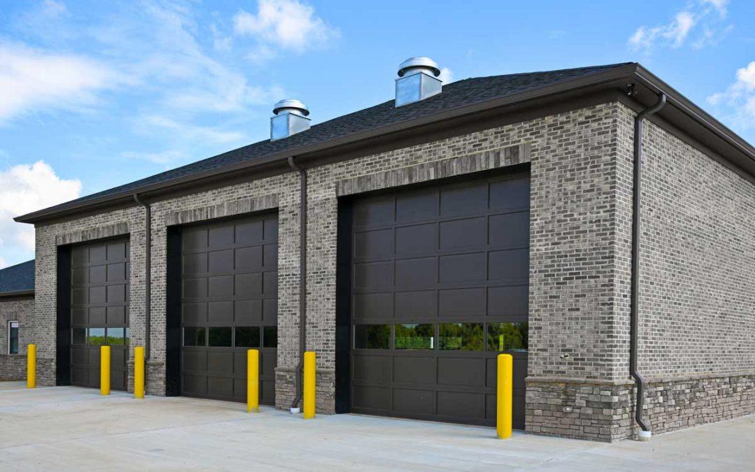 Contemporary Commercial Garage Doors